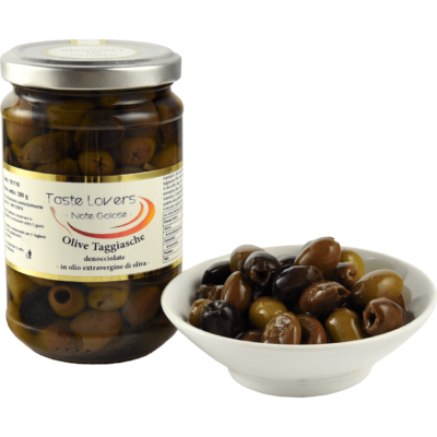 vasetto di olive taggiasche