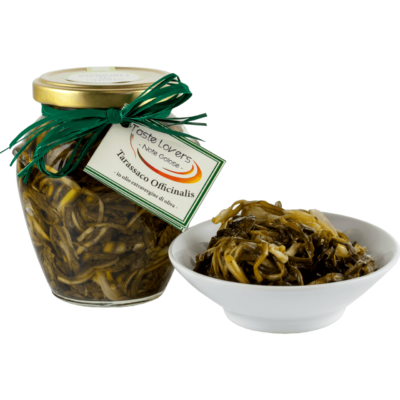 tarassaco officinalis sott'olio