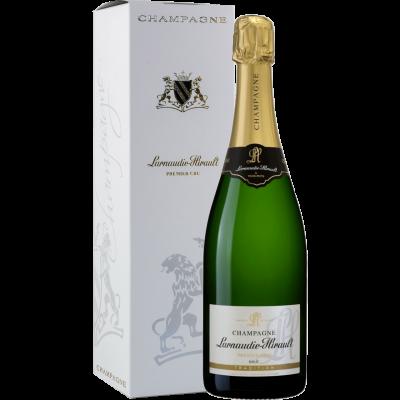 Champagne Brut Tradition Premier Cru Larnaudie - Hirault con astuccio
