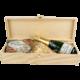 strenna natalizia acciughe e champagne