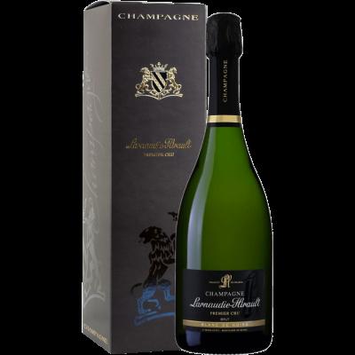 Champagne Brut Blanc de Noirs – Premier Cru Larnaudie – Hirault astuccio