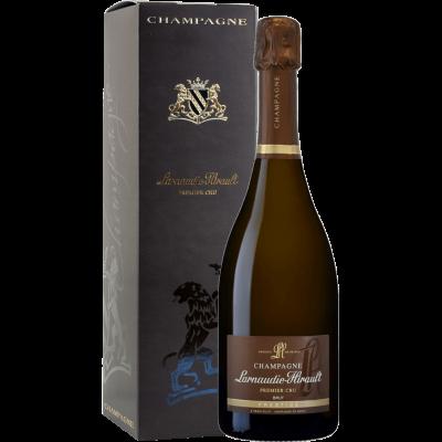 Champagne Brut Prestige Premier Cru Larnaudie - Hirault astuccio