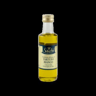olio extravergine di oliva aromatizzato al tartufo bianco