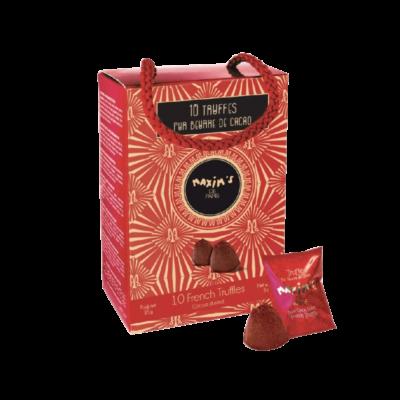 tartufi al cioccolato maxims